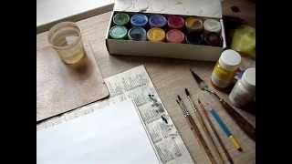 Урок 1(часть1). Петриковская роспись(Материалы для работы)