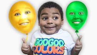 Goo Goo Gaga Pretend Play With Balloons and Goo Goo Mom!