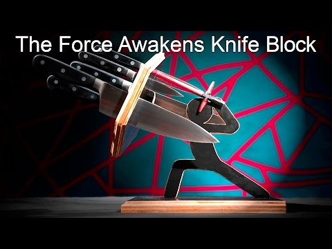 The Force Awakens - Knife Block // How to DIY