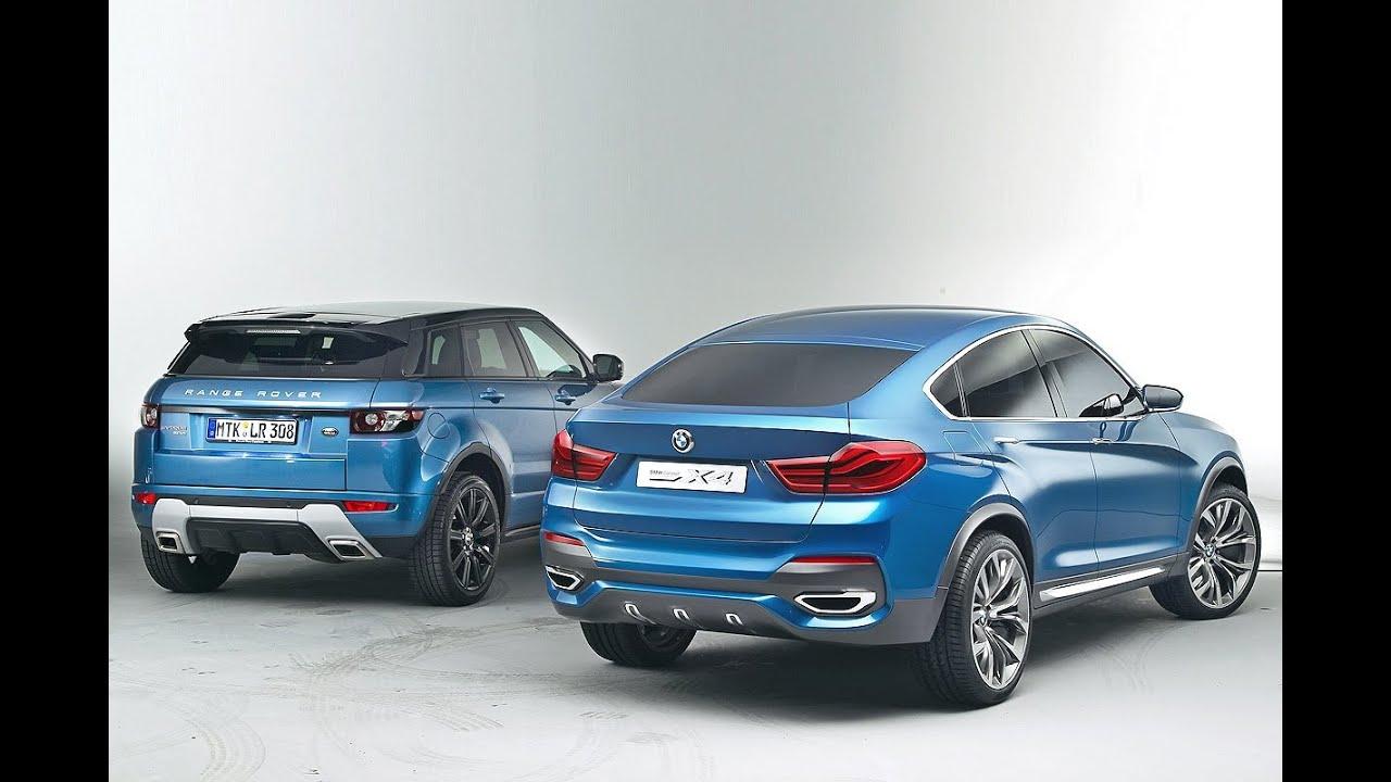 BMW X4 Vs. Range Rover Evoque