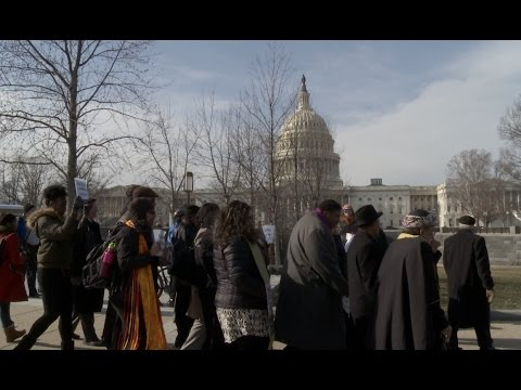 Clergy Lead March to Senate Leader's Office to Oppose Sessions Appointment