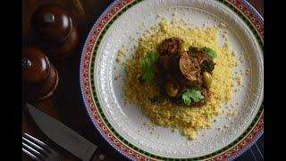 Meat Tagine w/ Spinach ||  طاجن اللحمة بالسبانخ