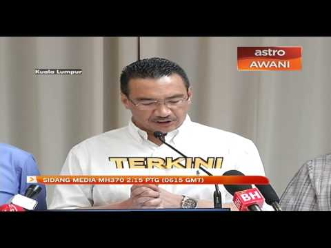 Sidang Media Pemangku Menteri Pengangkutan hari ke-43