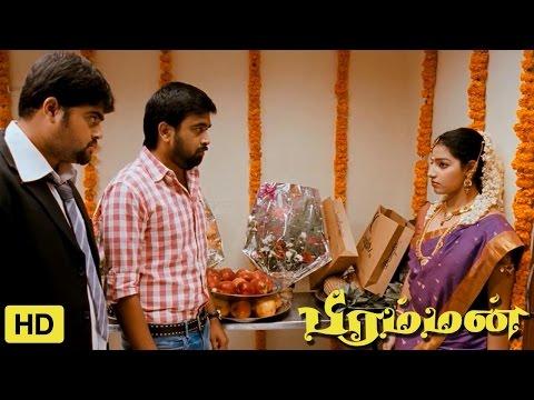 Bramman Tamil Movie   Scenes   Malavika Menon's Lover Comes Her Marriage   M. Sasikumar
