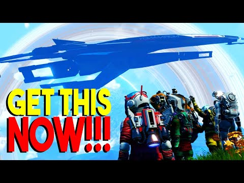HUGE New Ship No Man's Sky Expeditions Mass Effect SSV Normandy SR1 Reward for Beachhead