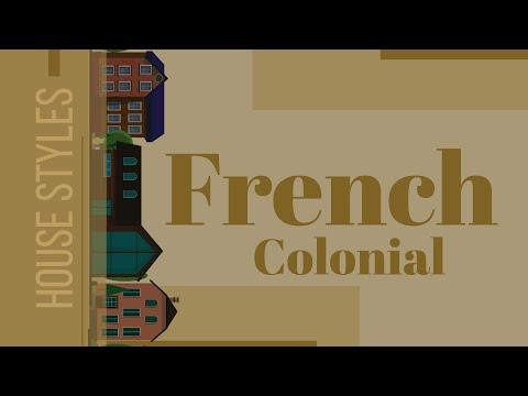 French Colonial Style Architecture