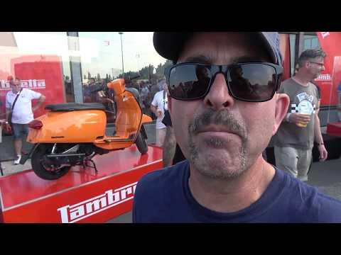 SLUK   Reactions to the Lambretta V-Special at...