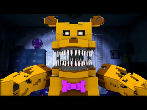 Five Nights at Freddy's Nightmare - Night 6 (Minecraft Roleplay)