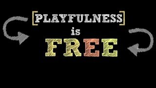 Playfulness is FREE...and now so is your library card!