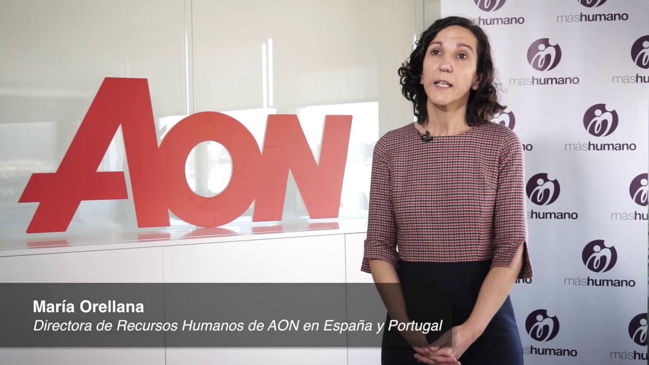 13/03/2017.Entrevista a María Orellana, directora de RRHH de AON en España y Portugal