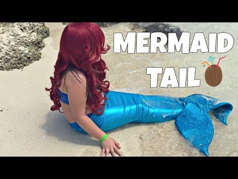 Diy How To Make Mermaid Fin For Under Very Easy Swimmable And Walkable