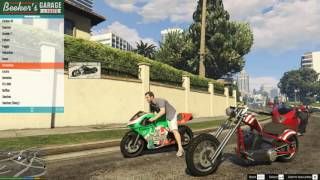 GTA 5 - Mod lấy xe môtô cực đẹp trong GTA 5 (Menyoo PC)