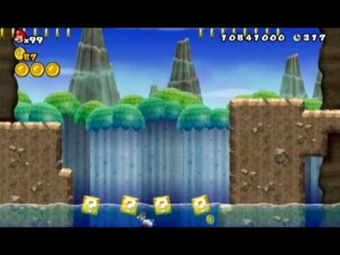New Super Mario Bros Wii World 6 5 All Star Coins Youtube