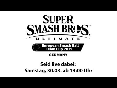 Super Smash Bros. Ultimate European Smash Ball Team Cup 2019 Germany thumbnail