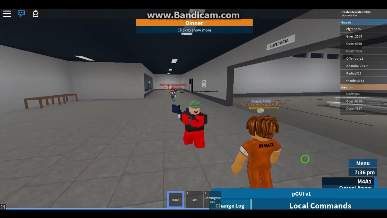 Roblox Prison Life Gui Script Youtube