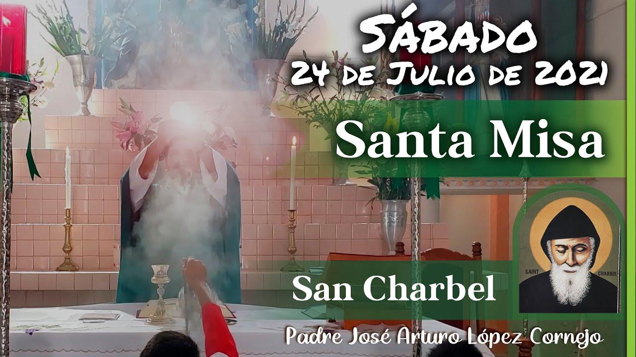 Download ✅ MISA DE HOY sábado 24 de julio 2021 - Padre Arturo Cornejo