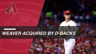 Weaver acquired by D-backs in 4-player trade