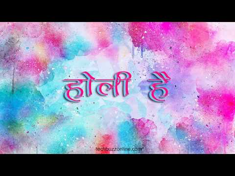 Best 10 Holi HD Wallpapers With Colors
