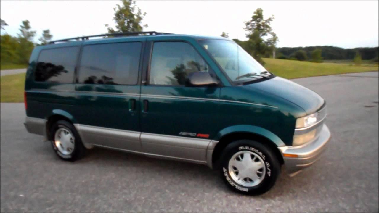 All Chevy 2001 chevy astro van : 01 Astro Green - YouTube