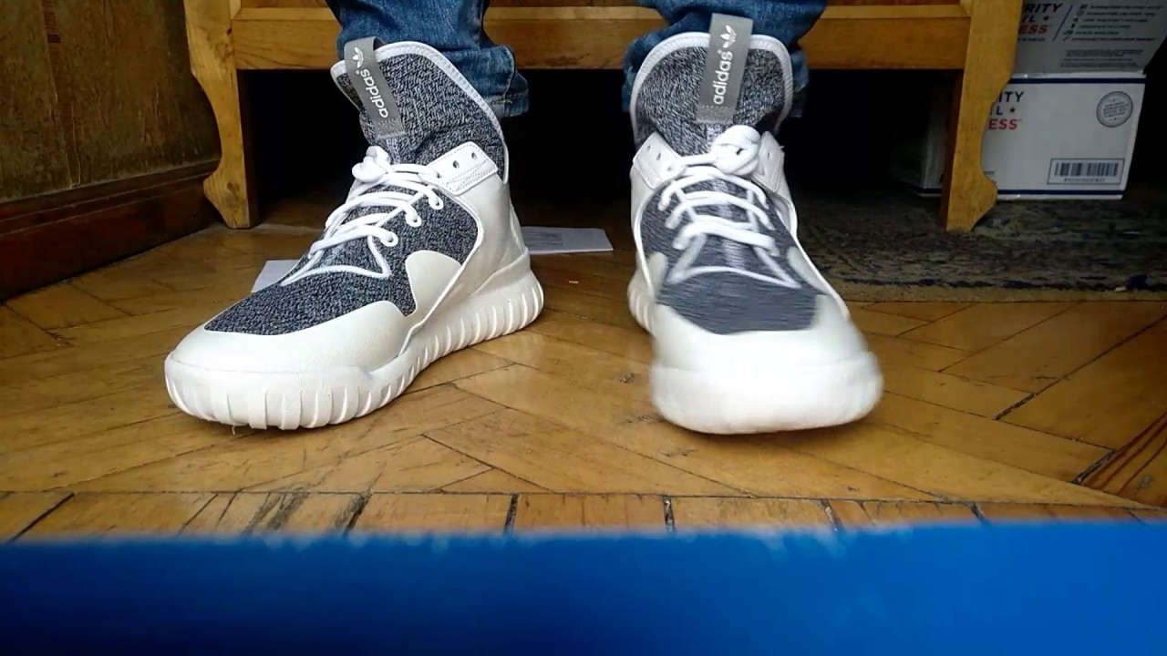 fce83cb2460 ADIDAS TUBULAR X White (s74928 Original) - YouTube