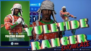 Fortnite YULETIDE RANGER Showcase