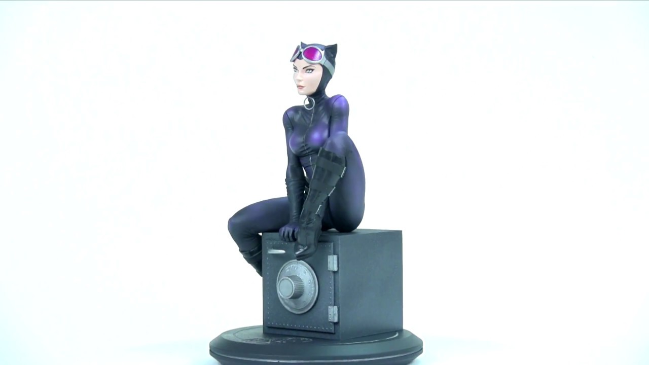 DC Comics Cover Girls Catwoman par Joelle Jones Statue Figurine Dc Collectibles New