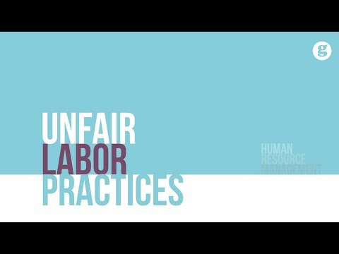 Unfair Labor Practices