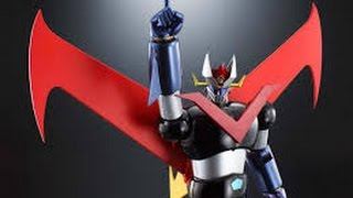great mazinger soul of chogokin DX launch Bandai booth @tokyo toy show 2015