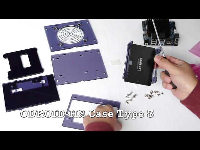 KKSB ODROID-C2//C1 Metal Case