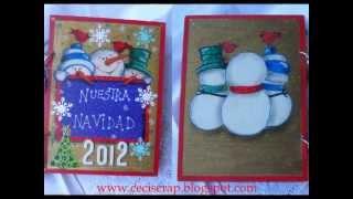 Christmas Woodcraft Markers. Kuretake