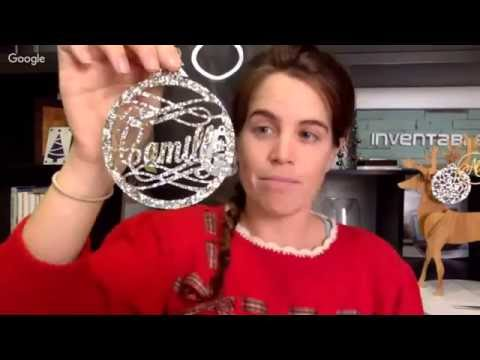 Easel Live: Personalized Holiday Ornaments
