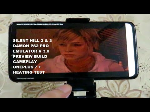 OnePlus 7 Silent Hill 2 & 3 Damon PS2 Pro Emulator v 3 Preview Android 10 Snapdragon 855 Gameplays