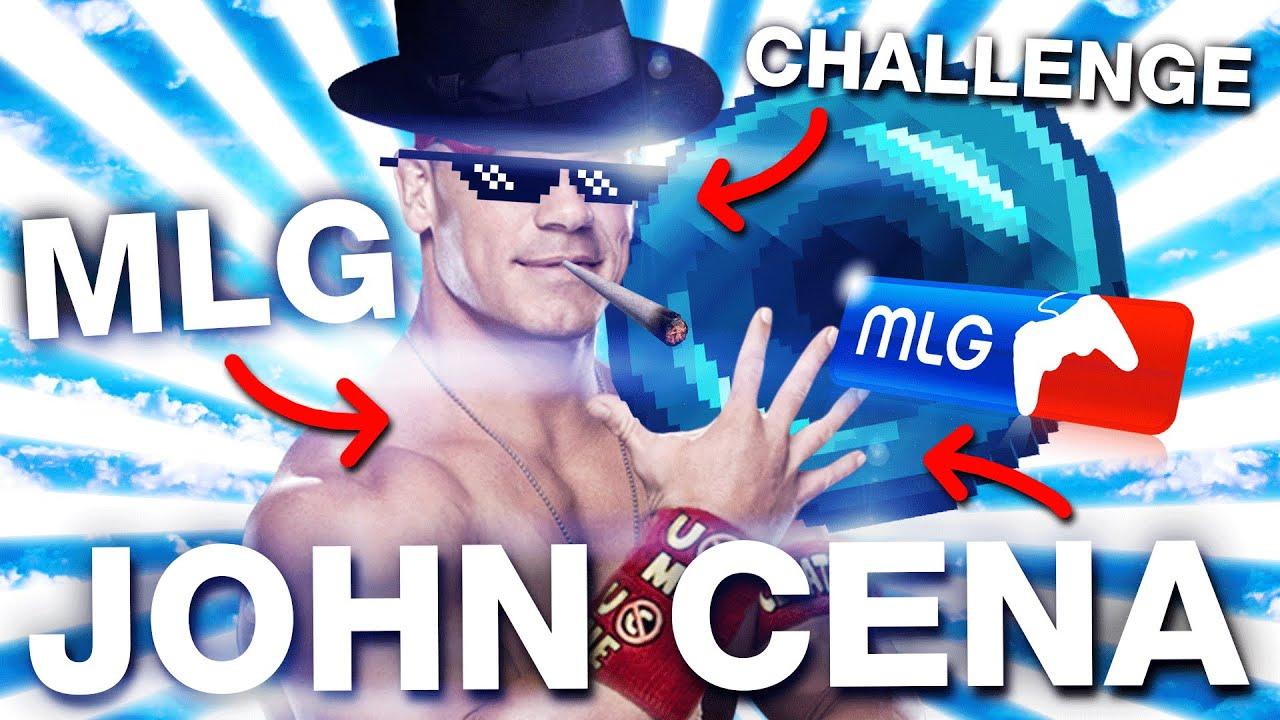 MLG JOHN CENA CHALLENGE - YouTube