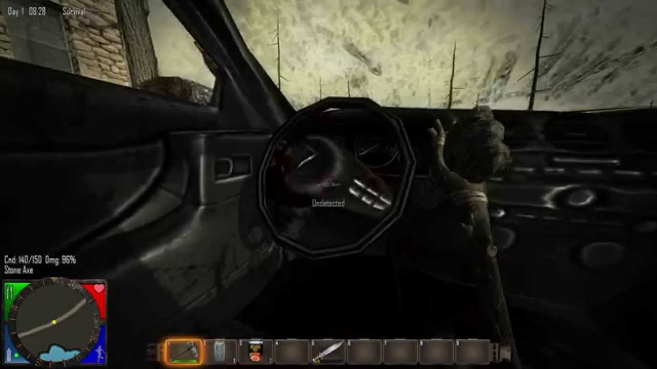 7 Days To Die Alpha 7 11 Got A New Car Then A Infection