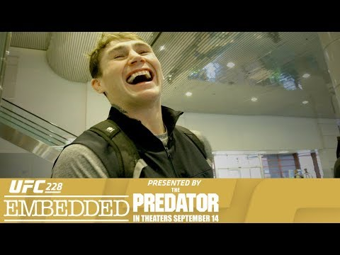 UFC 228 Embedded: Vlog Series - Episode 3