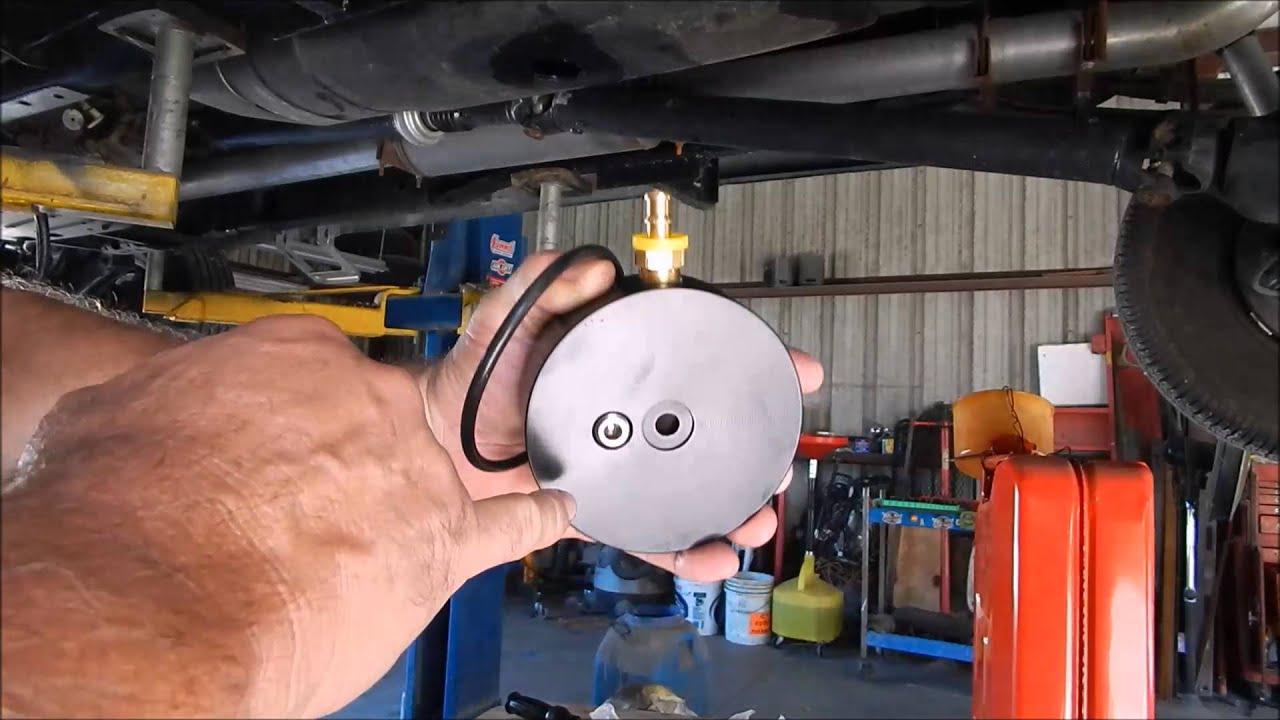 Beans Diesel Fuel Sump Install 1999 96 12 Valve Dodge Ram