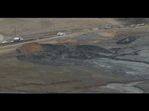 Duke Energy's giant coal ash spill in Eden, NC