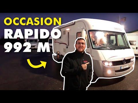 camping car occasion cyril et hedi rapido 992 m youtube. Black Bedroom Furniture Sets. Home Design Ideas