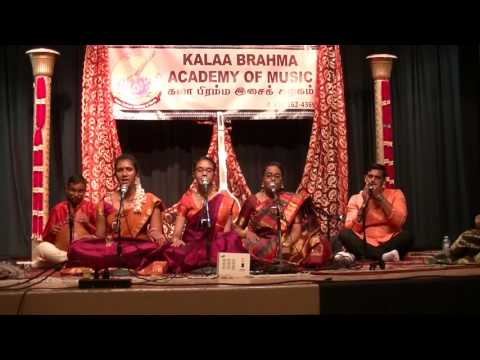 KALAA BRAHMA ACADEMY OF MUSIC VOCAL PROGRAM- MAY 28, 2016, TORONTO.