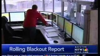 Rolling blackout briefing