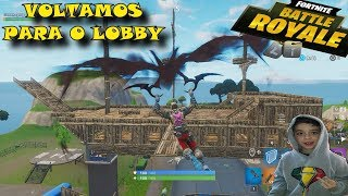 Fortnite we flew up the lobby and we were invisible, bug get invisible in the Fortnite hack aimbot