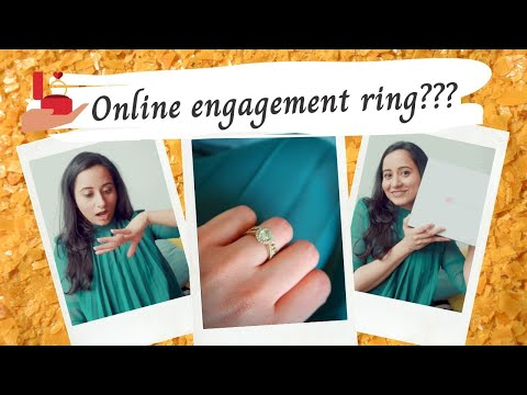 How I Picked My Engagement Ring | James Allen | Solitaire | Jewellery | Tips & Review