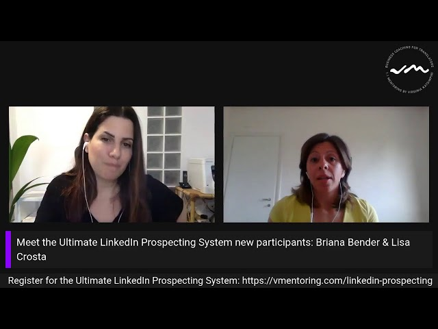 The Ultimate linkedIn Prospecting System: Meet the new participants