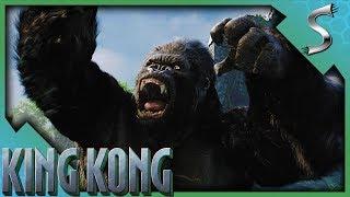 FINALLY WE CAN PLAY AS KONG & A BRONTOSAURUS STAMPEDE! - King Kong [2005 PC Gameplay E3]
