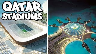 WORLD CUP 2022 STADIUMS QATAR / Official Trailer (HD)