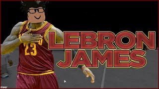 Becoming LEBRON JAMES in RB World 2 | ROBLOX Part 1 | iBeMaine