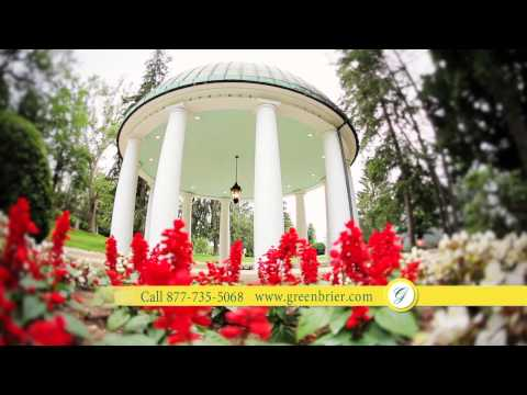 Visit America's Resort: The Greenbrier In The Summer