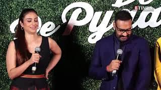 De De Pyaar De Trailer Launch | Ajay Devgn, Rakul Preet Singh, Tabu | FULL VIDEO