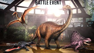 Jurassic World™ The Game: Max Level Weekend Battle Event