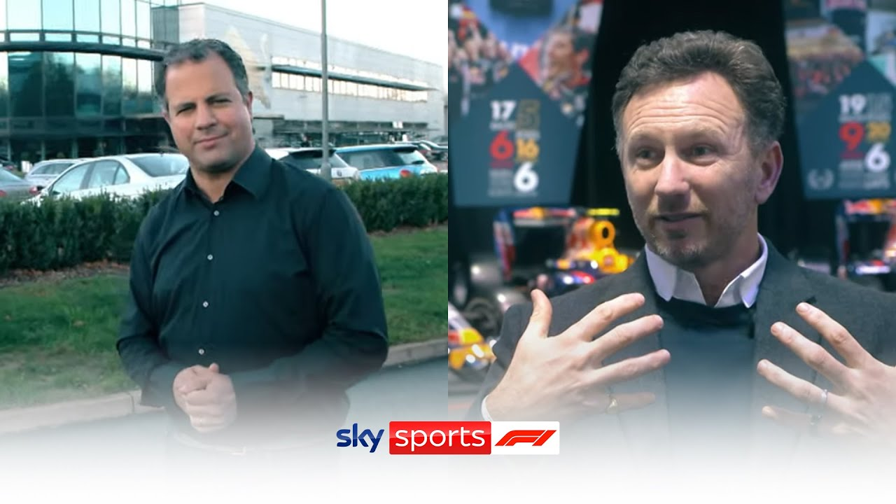 Behind the Scenes at Red Bull Racing | Ted Kravitz and Christian Horner